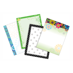 "Barker Creek Paper Set, 8 1/2"" x 11"", Peaceful Thoughts, Pack Of 200 Sheets"
