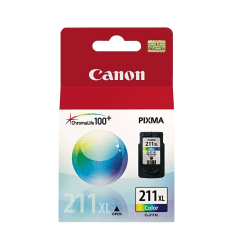 Canon CL-211XL Tricolor Ink Cartridge (2975B001)