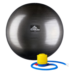 Black Mountain Products Pro Series Stability Ball, 85 cm, Black