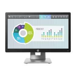 "HP Business E202 20"" HD+ LED LCD Monitor - 16:9 - 20"" Class - 1600 x 900 - 16.7 Million Colors - 250 Nit - 7 ms - HDMI - VGA - DisplayPort"