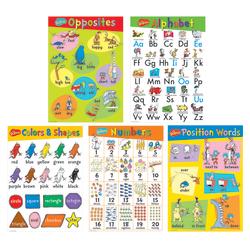Eureka Dr. Seuss™ Beginning Concepts Bulletin Board Set, Multicolor, Pre-K - Grade 2