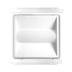 James LED Troffer Magic Retrofit Door Kit 2x2, 36 Watts, 4000K, 5000 Lumens, 120-277V