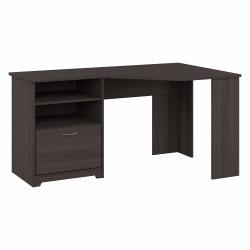 Bush Furniture Cabot Corner Desk, Heather Gray, Standard Delivery