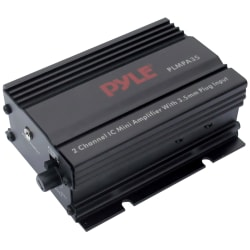 Pyle PLMPA35 2 Channel 300 Watt Mini Amplifier with 3.5mm Input