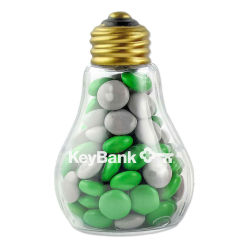Light Bulb Filled With Chocolate Buttons, 3 Oz
