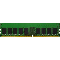 Kingston - DDR4 - module - 8 GB - DIMM 288-pin - 2400 MHz / PC4-19200 - CL17 - 1.2 V - unbuffered - ECC