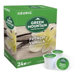 Green Mountain Coffee® French Vanilla Coffee Single-Serve K-Cup®, Carton Of 24