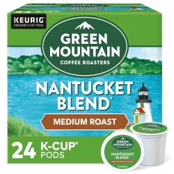 Green Mountain Coffee® Nantucket Blend® Coffee Single-Serve K-Cup®, Carton Of 24
