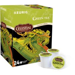 Celestial Seasonings® Green Tea Single-Serve K-Cups®, Box Of 24