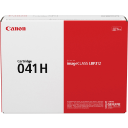 Canon 041H Toner Cartridge - Black - Laser - High Yield - 20000 Pages - 1 Each