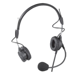 Telex PH-44-IC3 Headset - Wired Connectivity - Stereo - Over-the-head