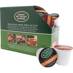 Green Mountain Coffee® Variety Decaffeinated Coffee Single-Serve K-Cup®, Carton Of 22