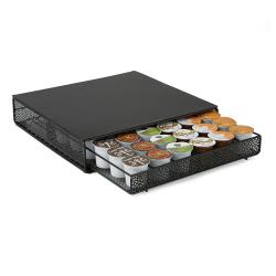 Mind Reader K-Cup® Pods Storage Drawer, 36-Pod Capacity, Black