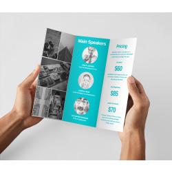Brochures, Choose Design Or Upload Your Own