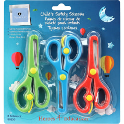Sparco Child's Safety Scissors Set - 6 / Pack