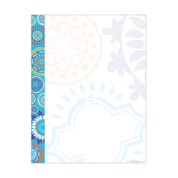"Barker Creek Computer Paper, 8 1/2"" x 11"", Moroccan, Pack Of 50 Sheets"