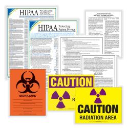 ComplyRight™ Healthcare Poster Set, English, Massachusetts
