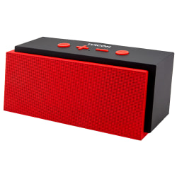Turcom Bluetooth® Wireless Portable Mobile 2.0 Speaker, Red, TS-453