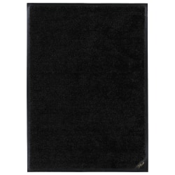 "M+A Matting Colorstar Plush Floor Mat, 36"" x 48"", Plush Black"