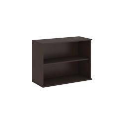 "Bush Business Furniture 2 Shelf Bookcase, 30""H, Mocha Cherry, Standard Delivery"