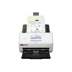 Epson RapidReceipt RR-600W - Document scanner - Contact Image Sensor (CIS) - Duplex - Legal - 600 dpi x 600 dpi - up to 35 ppm (mono) / up to 35 ppm (color) - ADF (100 sheets) - up to 4000 scans per day - USB 3.0, Wi-Fi