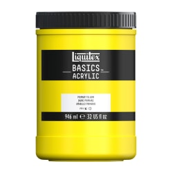Liquitex Basics Acrylic Paint, 32 Oz Jar, Primary Yellow