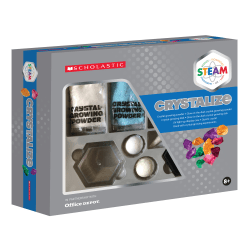 Scholastic STEAM Crystallize Activity Kit, Grades 2 To 5
