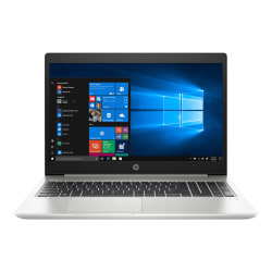"HP ProBook 450 G6 15.6"" Notebook - 1366 x 768 - Intel Core i5 (8th Gen) i5-8265U Quad-core (4 Core) 1.60 GHz - 4 GB RAM - 128 GB SSD - Natural Silver - Windows 10 Pro - Intel UHD Graphics 620 - English Keyboard - IEEE 802.11ac Wireless LAN Standard"