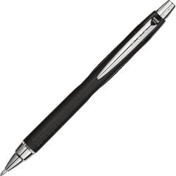 uni-ball Jetstream RT Pen - Bold Pen Point - 1 mm Pen Point Size - Retractable - Black Pigment-based Ink