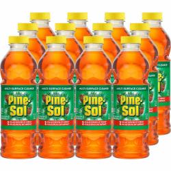 Pine-Sol All Purpose Multi-Surface Cleaner - 24 fl oz (0.8 quart) - Original Scent - 12 / Carton - Amber