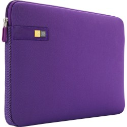 "Case Logic LAPS-116-PURPLE Carrying Case (Sleeve) for 15"" to 16"" Notebook - Purple - Ethylene Vinyl Acetate (EVA) Foam - Textured - 11.8"" Height x 16.3"" Width x 1.7"" Depth"