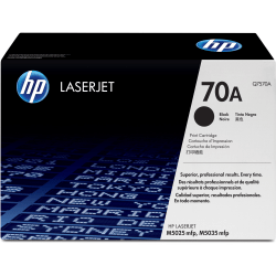HP 70A, Black Original Toner Cartridge (Q7570A)