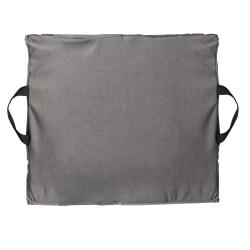 "DMI® Reversible Gel Foam Seat Cushion, 16""H x 18""W x 2""D, Gray"