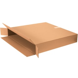 "Office Depot® Brand FOL Flat-Panel TV Boxes, 30""H x 8""W x 46""D, Kraft, Pack Of 5"