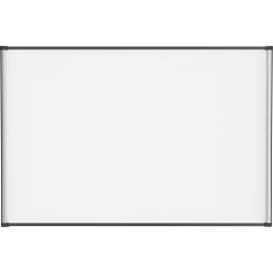 """Lorell® Magnetic Dry-Erase Whiteboard, 48"""" x 72"""", Steel Frame With Silver Finish"""
