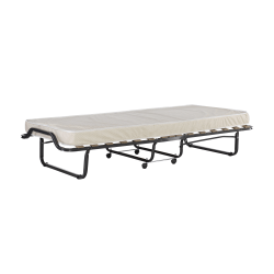 """Linon Home Decor Products Cameron Folding Bed, 15""""H x 31-1/2""""W x 74-13/16""""D, Beige"""
