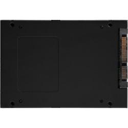 "Kingston KC600 1 TB Solid State Drive - 2.5"" Internal - SATA (SATA/600) - Desktop PC, Notebook Device Supported - 600 TB TBW - 550 MB/s Maximum Read Transfer Rate - 256-bit Encryption Standard"