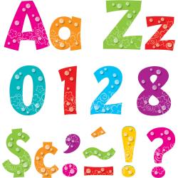 "Trend Bubbles Design 4"" Ready Letters Pack, Set Of 216"