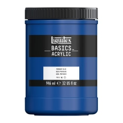 Liquitex Basics Acrylic Paint, 32 Oz Jar, Primary Blue