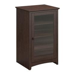 Bush Furniture Buena Vista Media Cabinet, Madison Cherry, Standard Delivery