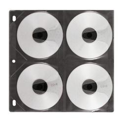 Vaultz® CD Binder Pages, Pack of 50