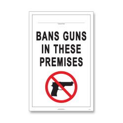 "ComplyRight State Weapons Law 1-Year Poster Service, English, Minnesota, 11"" x 17"""