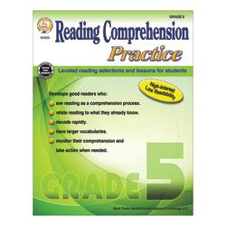 Mark Twain Media Reading Comprehension Practice, Grade 5