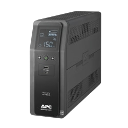 APC BR1500MS Back-UPS Pro 10-Outlet UPS, 1,500VA/900 Watts