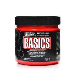Liquitex Basics Acrylic Paint, 32 Oz Jar, Cadmium Red Medium Hue