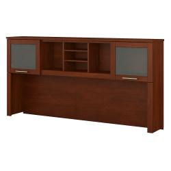 "Bush Furniture Somerset Hutch for L Shaped Desk, 72""W, Hansen Cherry, Standard Delivery"