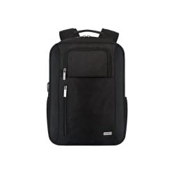 "Codi Magna Carrying Case (Backpack) for 17.3"" Notebook - Black - 1680D Polyester, Polyvinyl Chloride (PVC), Polyurethane, Mesh Pocket - Shoulder Strap, Chest Strap, Luggage Strap"