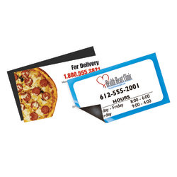 """Magnetic Business Cards, Uncoated, 3 1/2"""" x 2"""""""