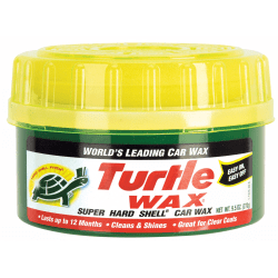 Turtle Wax® Super Hard Shell® Paste Car Wax, 9.5 Oz, Pack Of 6
