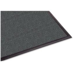 """Guardian Floor Protection WaterGuard Wiper Scraper Indoor Mat - Indoor, Outdoor, Floor, Entryway, Breakroom, Kitchen - 60"""" Length x 36"""" Width - Rectangle - Fiber, Polypropylene - Charcoal"""